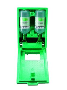 Augenspülstation -PLUM DUO-, inkl. 2 x 1000 ml Augenspülflasche und Wandbox, zur Wandmontage (Ausführung: Augenspülstation -PLUM DUO-, inkl. 2 x 1000 ml Augenspülflasche und Wandbox, zur Wandmontage (Art.Nr.: 25951))