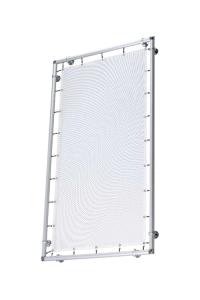 Bannerrahmen -Style- aus Aluminium, 1 x 1 m bis 6 x 6 m (Rahmengröße: 1 x 1 m (Art.Nr.: 36073))