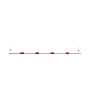 Barriere aus Alurohr für Höhenbegrenzer, ∅, 48 mm, versch. Längen (Länge: 3000 mm (Art.Nr.: 417.b03))
