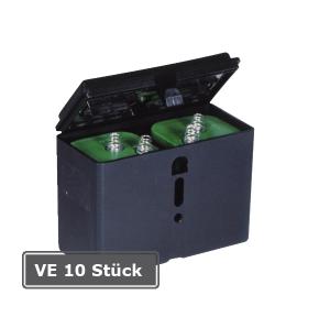 Batterie-Box für 2 Batterien IEC 4 R 25, VE 10 Stück (Ausführung: Batterie-Box für 2 Batterien IEC 4 R 25, VE 10 Stück (Art.Nr.: 18611))
