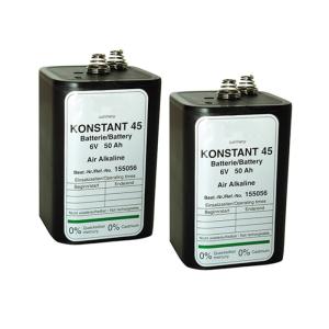Batterie -Konstant 45- für Elektronenblitzleuchte Star-Flash LED 160, VPE 2 Stk. (Ausführung: Batterie -Konstant 45- für Elektronenblitzleuchte Star-Flash LED 160, VPE 2 Stk. (Art.Nr.: 90.5057))