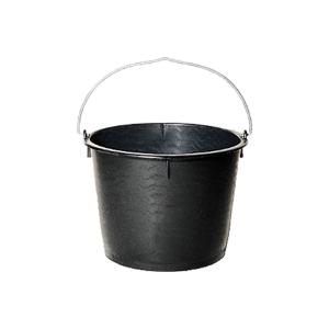 Bau-Eimer -Classic- 12 Liter aus PE, schwere Ausführung (Ausführung: Bau-Eimer -Classic- 12 Liter aus PE, schwere Ausführung (Art.Nr.: 33716))