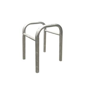 Baum- und Säulenschutz -Solid-, Ø 60 mm aus Stahl, zweiteilig, zum Einbetonieren, Höhe 650 oder 800 mm