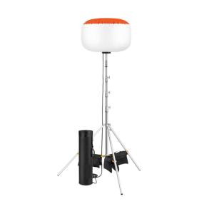 Baustrahler -Light-Ball LED- nach EN1838, 600 W (75000 lm), inkl. Zylinderbehälter (Ausführung:  <b>ohne Stativ</b> (Art.Nr.: 39993))