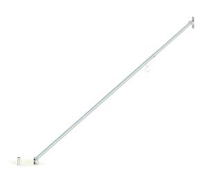 Bauzaun-Stützstrebe für Trapezzäune (übereinander gesetzt) mit 4,00 m Höhe (Ausführung: Bauzaun-Stützstrebe für Trapezzäune (übereinander gesetzt) mit 4,00 m Höhe (Art.Nr.: 3b1544))