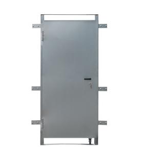 Bauzauntür -Steel-, Höhe 2,00 m, Breite 0,75 m, aus Stahl (Ausführung: Bauzauntür -Steel-, Höhe 2,00 m, Breite 0,75 m, aus Stahl (Art.Nr.: 3b2007))