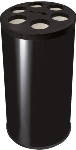 Bechersammler -Pro 32- aus Stahl, Fassungsvermögen ca. 1.100 Becher (Ausführung: Bechersammler -Pro 32- aus Stahl, Fassungsvermögen ca. 1.100 Becher (Art.Nr.: 38512))