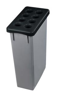 Bechersammler -Pro 33- aus Polypropylen, Fassungsvermögen ca. 1.600 Becher (Ausführung: Bechersammler -Pro 33- aus Polypropylen, Fassungsvermögen ca. 1.600 Becher (Art.Nr.: 38499))