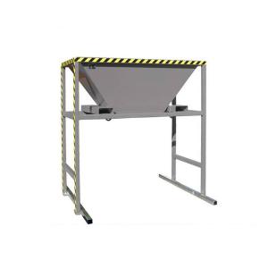 Befülltrichter -Typ BTM-, mobile Standkonstruktion (Farbe: RAL 2000 gelborange (Art.Nr.: 38911))
