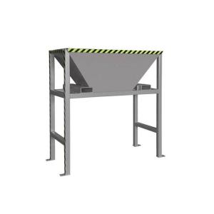 Befülltrichter -Typ BTS-, Standkonstruktion (Farbe: RAL 2000 gelborange (Art.Nr.: 38910))