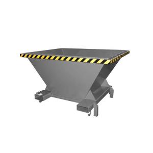 Befülltrichter -Typ SBT-, mit durchgehenden Einfahrtaschen (Farbe: RAL 2000 gelborange (Art.Nr.: 38909))