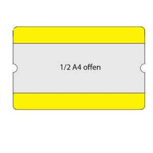 Beschriftungstaschen -WT-5118-, 1 / 2 DIN A4, staplerüberfahrbar, VPE 10 Stk.