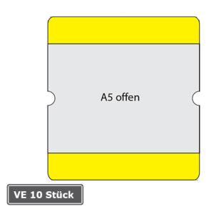 Beschriftungstaschen -WT-5118-, DIN A5, staplerüberfahrbar, VE 10 Stück