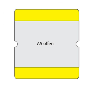 Beschriftungstaschen -WT-5118-, DIN A5, staplerüberfahrbar, VPE 10 Stk.