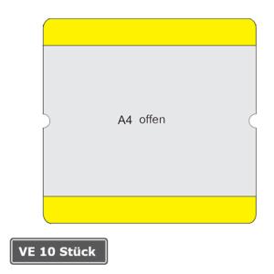 Beschriftungstaschen -WT-5118-, VE 10 Stück, DIN A4, staplerüberfahrbar