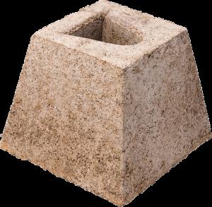 Betonsockel für Leitpfosten (Ausführung: Betonsockel für Leitpfosten (Art.Nr.: 31859))