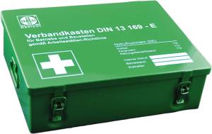 Betriebsverbandkasten -Maxi-, nach DIN 13169, 350 x 255 x 100 mm, wahlweise mit Wandhalterung (Modell: ohne Wandhalterung (Art.Nr.: 25094))