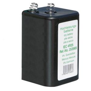 Blockbatterie IEC 4 R 25 -Premium- 6V- 7Ah, Cadmium- / Quecksilberfrei, VPE 24 Stk. (Ausführung: Blockbatterie IEC 4 R 25 -Premium- 6V- 7Ah, Cadmium-/Quecksilberfrei, VPE 24 Stk. (Art.Nr.: 39737))