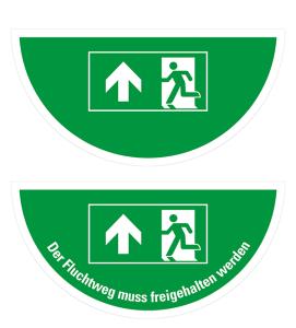 Boden-Sicherheitskennzeichnung