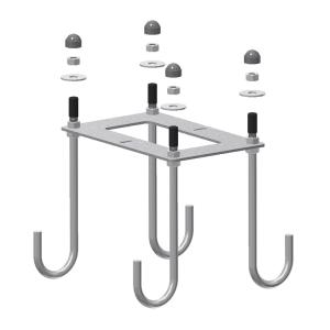 Bodenanker Hauptstütze für Modelle der Serie -Alpha- (Ausführung: Bodenanker Hauptstütze für Modelle der Serie -Alpha- (Art.Nr.: 34171))