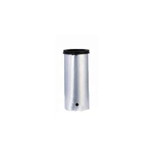 Bodenhülse aus Aluminium für V2A, Ø 60 mm, Ø 76 mm, Ø 102 mm, 70 x 70 mm (Größe: Ø 61mm x 300mm (Art.Nr.: 13634))
