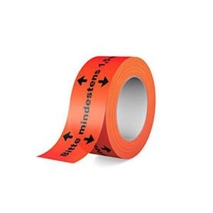 Bodenmarkierungsband -Bitte mindestens 1,5m Abstand halten!- aus PVC, Breite 50 mm, Länge 66 m (Ausführung: Bodenmarkierungsband -Bitte mindestens 1,5m Abstand halten!- aus PVC, Breite 50 mm, Länge 66 m (Art.Nr.: 90.1214))