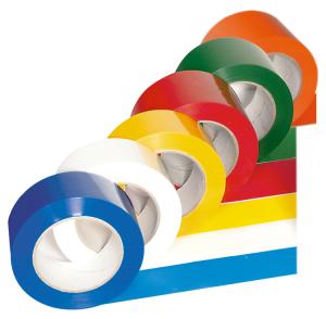 Bodenmarkierungsband -PROline-, einfarbig, 75 mm, extra stark (Farben: rot (Art.Nr.: 33535))