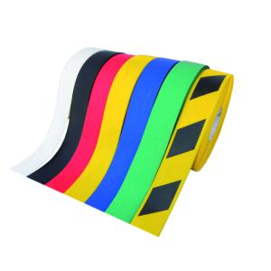 Bodenmarkierungsband -WT-500-, Breite 100 mm, Länge 10 oder 25 m, mit abgeschrägten Rändern (Länge/Farbe: 10m/ <b>gelb</b> (Art.Nr.: 22903))
