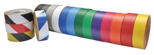 Bodenmarkierungsband -WT-5125-, Breite 50 mm, Länge 10 oder 25 m, überfahrbar (Länge/Farbe: 10 m /  <b>rot</b> (Art.Nr.: 23133))