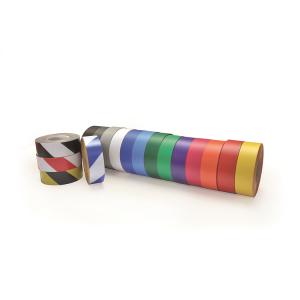 Bodenmarkierungsband -WT-5125-, Breite 75 mm, Länge 10 oder 25 m, staplerüberfahrbar (Länge/Farbe: 10m/ <b>weiß</b> (Art.Nr.: 23168))