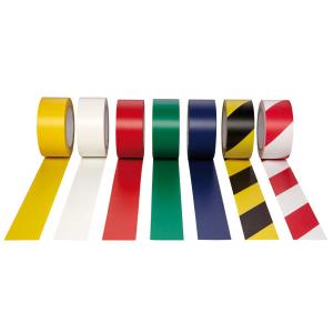 Bodenmarkierungsband -WT-5160- aus PVC, Breite 50 mm, Länge 33 m (Farbe: rot (Art.Nr.: 33774))