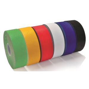 Bodenmarkierungsband -WT-5845-, Breite 75 mm, Länge 12,5 oder 25 m, retroreflektierend (Länge/Farbe: 12,5m/ <b>rot</b> (Art.Nr.: tk5017))