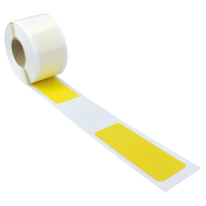 Bodenmarkierungsstreifen -WT-5124- aus PVC, 75 x 220 mm (Länge/Farbe: 10 m/  <b>gelb</b> (Art.Nr.: 36947))
