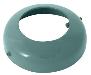 Bodenrosette für Stilpoller zum Einbetonieren, Ø 82 mm (Ausführung: Bodenrosette für Stilpoller zum Einbetonieren, Ø 82 mm (Art.Nr.: 485rb))