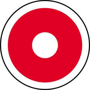 Brandschutzschild Ø 100 mm, Automatischer Brandmelder (Ausführung: Brandschutzschild Ø 100 mm, Automatischer Brandmelder (Art.Nr.: 21.2726))