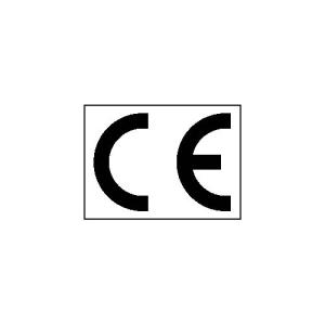 CE-Kennzeichnungs-Etiketten (Maße (BxH)/Bogen: Ø 15 mm / 40er-Bogen (Art.Nr.: 30.1645))
