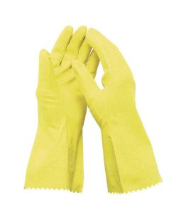Chemikalienschutzhandschuh -EcoLine III-, Latex, lebensmittelecht, EN 388, EN 374-2, EN 374-3, CE (Größe: 7 (Art.Nr.: 35186))
