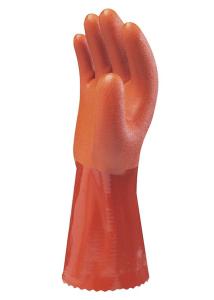 Chemikalienschutzhandschuh -EcoLine I-, PVC-Beschichtung, nach EN 388 und EN 374-3, CE-geprüft (Größe: 7 (Art.Nr.: 35171))