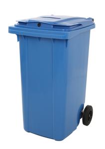 Datenschutzbehälter -P-Bins 111- 240 Liter,  mit Papierschlitz (Ausführung: Datenschutzbehälter -P-Bins 111- 240 Liter,  mit Papierschlitz (Art.Nr.: 34744))