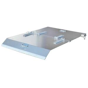 Deckel für Kippbehälter -Typ NK-, zweiseitig zu öffnen (Modell: für Modell  <b>NK 30</b> (Art.Nr.: 38504))