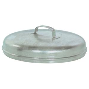 Deckel für Mülltonne -State Boston- (Durchmesser/Modell:  <b>Ø 380 mm</b>/passend zu 60 Liter (Art.Nr.: 10339))