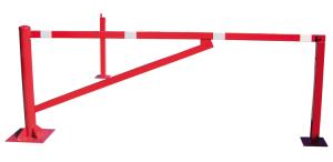 Drehschranke aus Stahl, Breite 2500 - 4500 mm