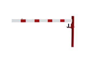 Drehschranke, horizontal schwenkbar, Breite 1500 - 3500 mm, zum Einbetonieren