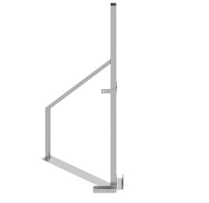 Eck-Ständer für Holzbauzaun, Höhe 1815 mm (Ausführung: Eck-Ständer für Holzbauzaun, Höhe 1815 mm (Art.Nr.: 3b160-e))