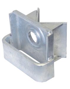 Eckeinhängeschuh für Gebäudeecken mit rückseitigem Winkel (Ausführung: Eckeinhängeschuh für Gebäudeecken mit rückseitigem Winkel (Art.Nr.: 11300))