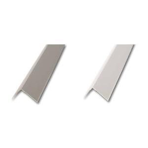 Eckschutzprofil aus Aluminium, Länge 2500 mm, verschiedene Farben (Winkelmaß/Farbe:  <b>25 x 25 mm</b> eloxiert, silber (Art.Nr.: 34627))