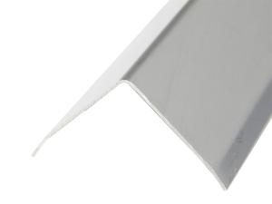 Eckschutzprofil aus Edelstahl, 3-fach gekantet, Oberfläche glatt, Länge 1500 bis 3000 mm