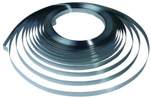 Edelstahl-Stahlbänder A2 (Breite/Länge: 13mm x 1m, je Meter (Art.Nr.: tb001101))