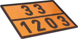 Einstofftafel für Benzin / Super (30 / 1203) gem. GGVS und ADR (Ausführung: Einstofftafel für Benzin/Super (30/1203) gem. GGVS und ADR (Art.Nr.: 64.2302))
