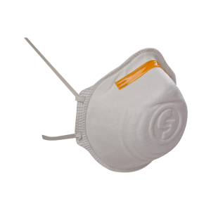 Ekastu Atemschutzmaske Mandil FFP1, wahlweise mit Ausatemventil, VPE 12 Stk. (Modell: ohne Cool-Down-Ausatemventil (Art.Nr.: as97110))